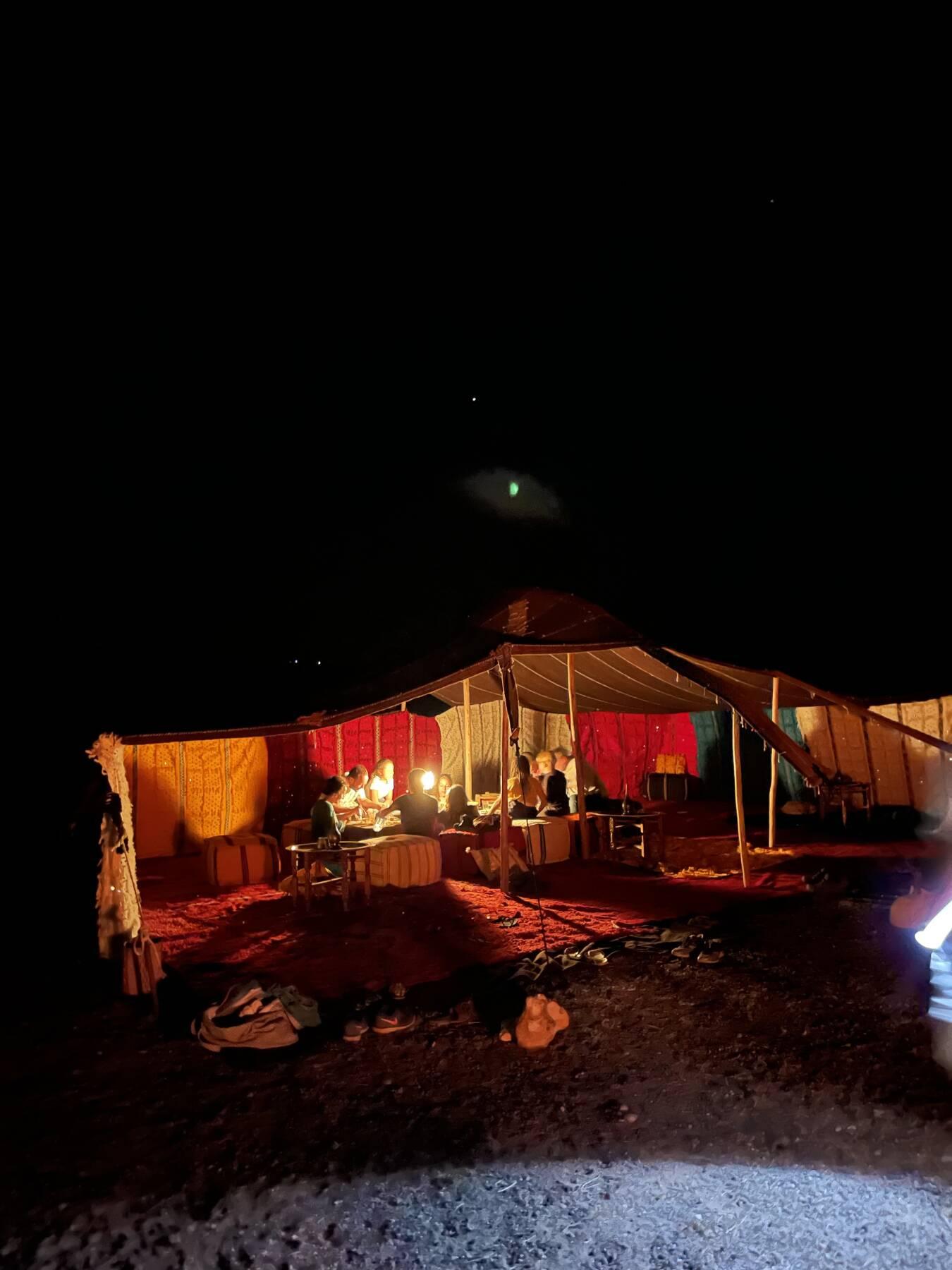 Weekend e notte in accampamento berbero + festa