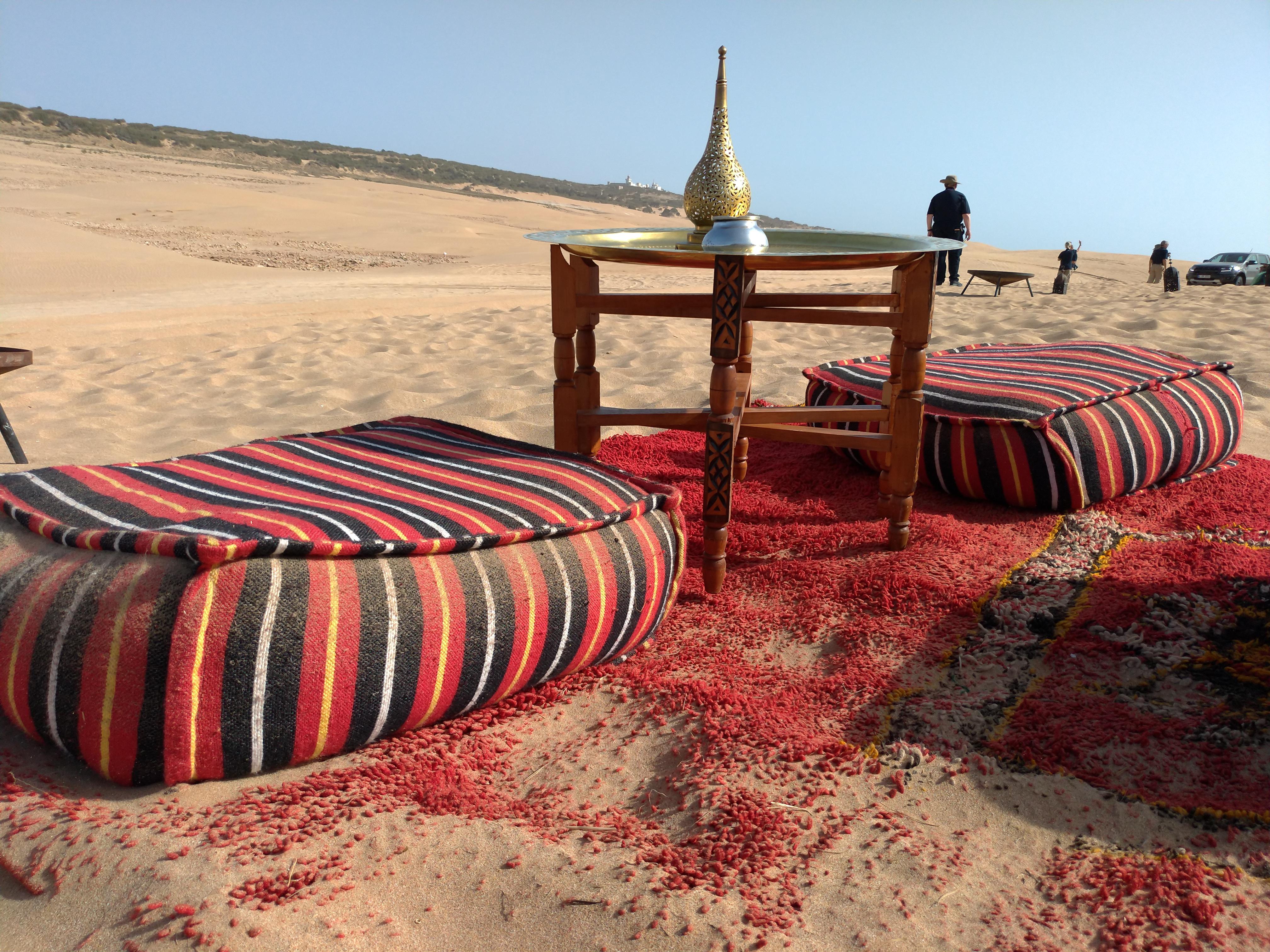 Moroccan bivouac