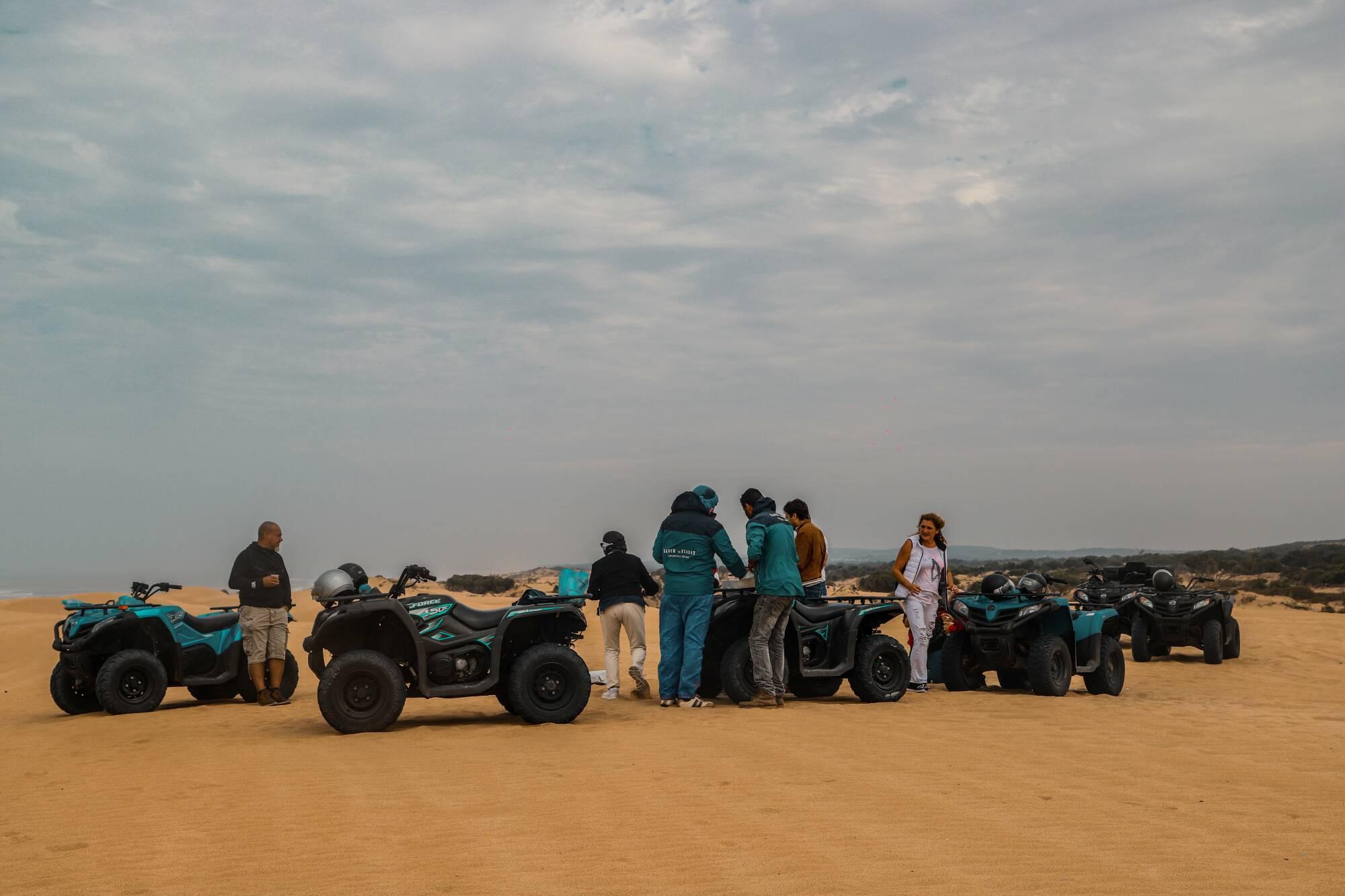 Quad Tour 6h + déjeuner + bivouac sur la plage