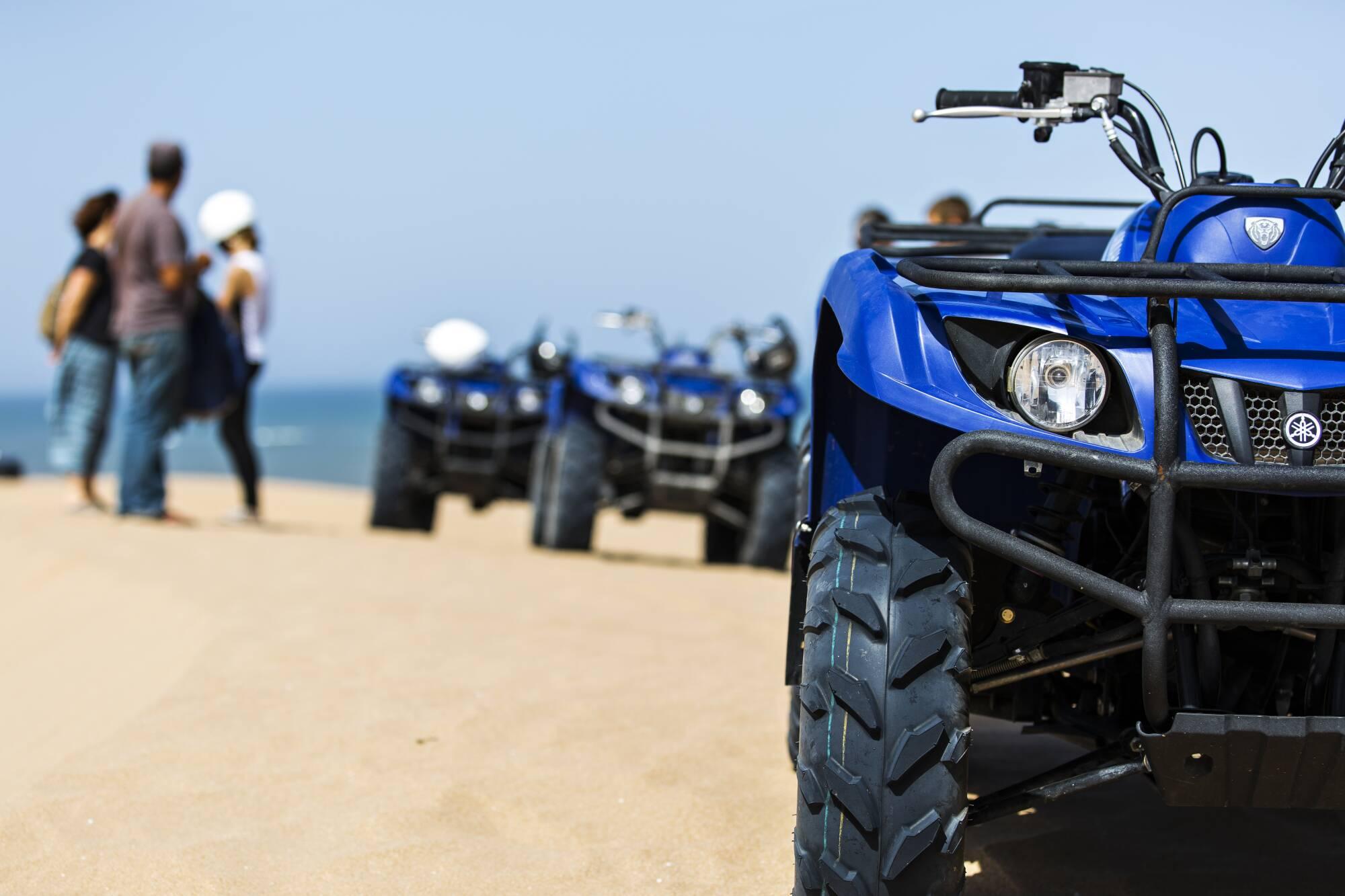 Quad Tour 6h + déjeuner sur la plage
