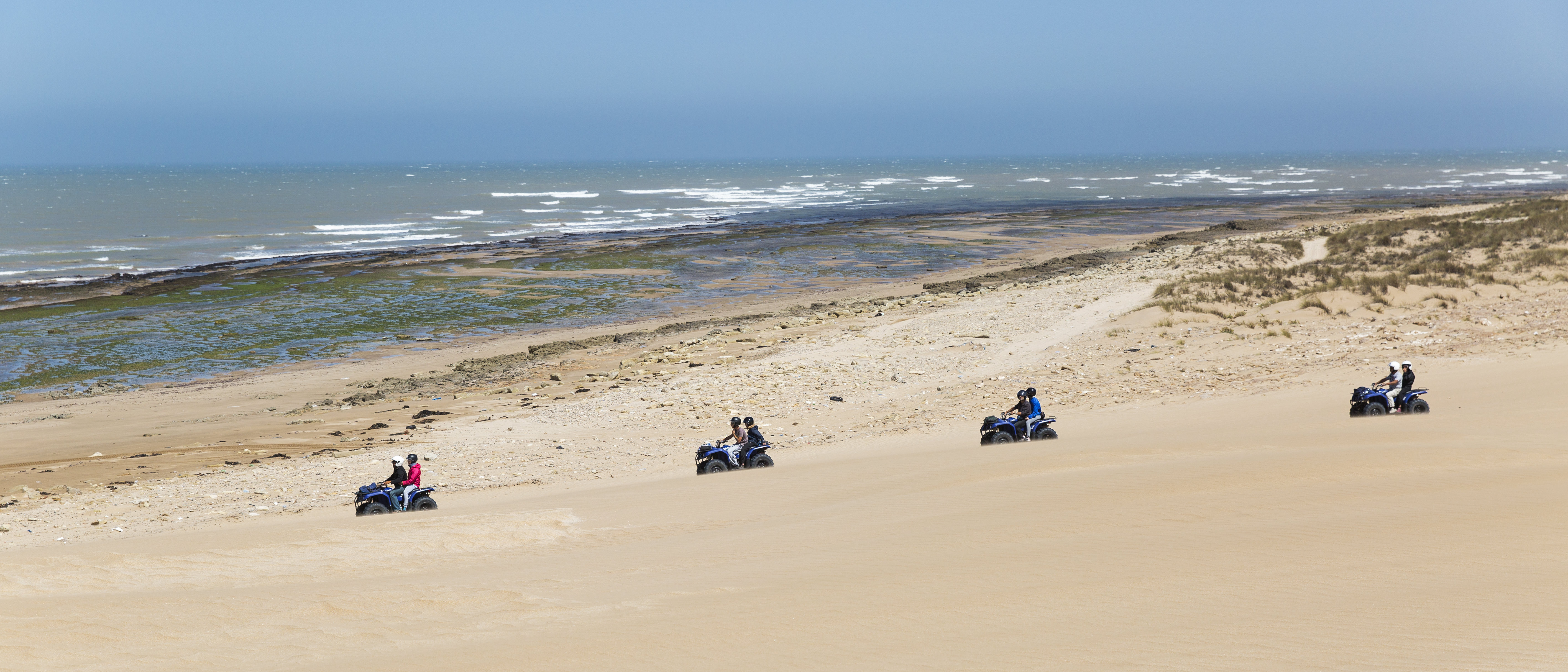 Quad / Atv Bike Tour 6h + lunch on the beach